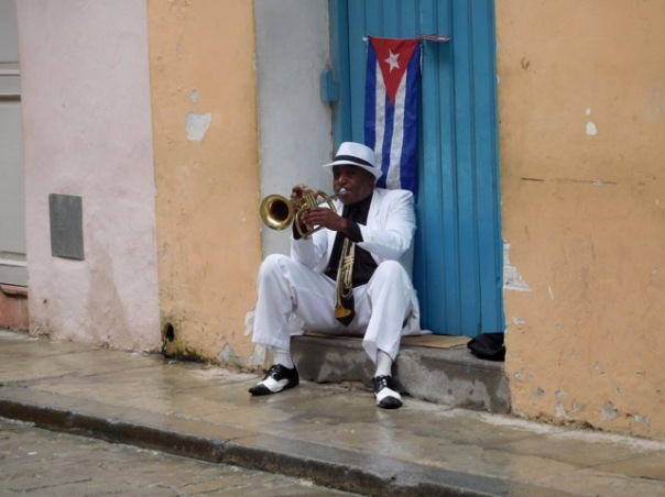 Cool, Clean Cuban Trumpeter